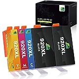 JARBO Compatibile HP 920 XL Cartucce d'inchiostro Alta Capacità Compatibile con HP Officejet 6000 6500 7000 7500 E709 Stampan