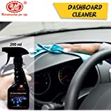 UE Elite Dashboard Polish/Cleaner For All Cars and Bike - Dry to touch and Rich Matte Finish (Plastic, Rubber, Leather…