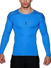 Azani Original Series Full Sleeve Compression Tops - Blue
