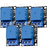 AZDelivery 5 x 1-relais 5V KY-019 Module High-Level-Trigger compatibel met Arduino inclusief E-Book!