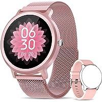 NAIXUES Smartwatch Donna, Orologio Fitness IP68 con 24 Modalità Sportive, Smart Watch Impermeabile Contapassi…
