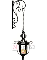 NAYAB Outdoor Candle for Festival Home Outdoor Decoration with Brackets (1 Outdoor Candle with Bracket)