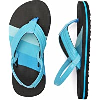 Kids Flip Flops Boys Girl Thong Sandals Toddlers Summer Pool Sliders Child Beach slippers with Back Strap