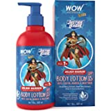 WOW Skin Science Kids Body Lotion - SPF 15 - Golden Warrior Wonder Woman Edition - No Parabens, Color, Mineral Oil, Silicones
