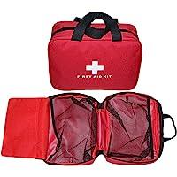 Aoutacc Trousse de premiers secours vide en nylon compact et léger pour les urgences à la maison, au bureau, en voiture…