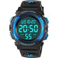 Orologi da bambino per ragazzi, orologio sportivo digitale impermeabile esterno con sveglia/cronometro, orologio da…