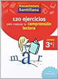 Vacaciónes Santillana, lectura, comprensión lectora, 3 Educación PriMaría. Cuaderno - 9788429409000 (Tapa blanda)