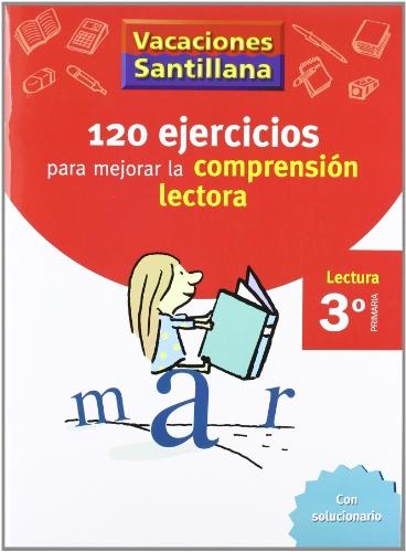 Vacaciónes Santillana, lectura, comprensión lectora, 3 Educación PriMaría. Cuaderno - 9788429409000 por Varios autores