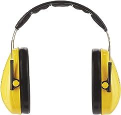 3M Peltor Optime I Kapselgehörschützer gelb – Gehörschutz mit verstellbarem Kopfbügel für Lärm bis 98dB – SNR 27 Hörschutz mit hohem Tragekomfort & geringem Gewicht