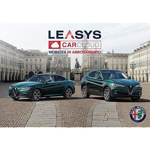 Iscrizione Abbonamento Leasys CarCloud 2021 Giulia & Stelvio