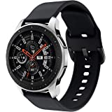 Syxinn Compatibile con 22mm Cinturino Galaxy Watch 46mm/Galaxy Watch 3 45mm Braccialetto Gear S3 Frontier/Classic Silicone Po