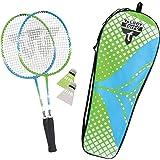 Talbot Torro Badminton Set 2-Attacker Junior, Unisex-Kids