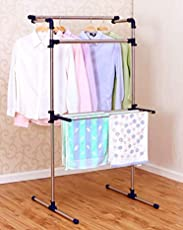 Bi3 Multi-Purpose Clothes Hanger high Quality Smart Designer,Portable Multifunctional Clothes Rack Drying Rack Clothes Dryer, Cloth Drying Stand Cloth Hanging Rack Cloth Hanger Cloth Dryer Stand