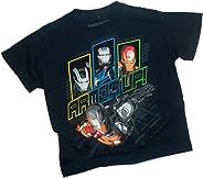 Chin Down - Armor Up! - Iron Man 3 Movie Juvenile T-Shirt, Juvenile Small (4)