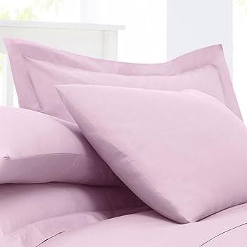 Debenhams Yellow Cotton Rich Percale Oxford Pillow Case Pair