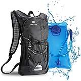 Mochila de hidratación de 2L con bolsa de bicicleta de vejiga de hidratación para correr al aire libre Ciclismo Ciclismo Send