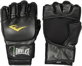 Everlast MMA Grappling Gloves Black Colour S/M