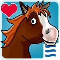 Kleines Baby Pferd - ein süßes Fohlen möchte mir dir spielen!