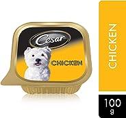Cesar Chicken, Wet Dog Food, 100g x 6