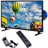 Xoro HTC 2448 60 cm (24 inch) LED TV (HD, Triple Tuner DVB - S2/T2/C), H.265/HEVC - Decoder, PVR Ready, Timeshift, HD mediasp