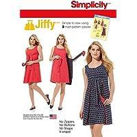 Simplicity S7753.R5 Patron de Robe, 42-50