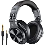 OneOdio A70 Bluetooth Over Ear Headphones, Studio Headphones with Shareport, Foldable, Wired and Wireless Professional Monito