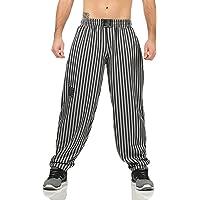 ZARMEXX Pantaloni sportivi da uomo, pantaloni lunghi da jogging, bodybuilding, palestra, pantaloni sportivi