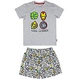 Cerdá Avengers   Pijama Los Vengadores Niño de Color Gris Juego Niños