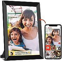 FRAMEO WiFi Digitaler Bilderrahmen mit Touchscreen 8-Zoll-IPS (1280 x 800), automatisch drehbares Hochformat und…