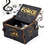 Carillon di Legno Tema di Star Wars, Scatole Musicali in Legno Intagliate a Mano e Intagliate a Mano Creativi I Migliori Rega