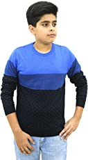 Maxexcel Krazy Gang Round Neck Boy's Cotton Pullovers