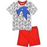 Sonic The Hedgehog - Conjunto de pijama de manga corta