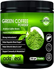 Adorreal 100% Arabica Green Coffee Bean Powder for Weight Loss- 250gm