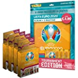 UEFA Euro 2020 Tournament Edition Official Sticker Collection Starter Pack [Album + 23 Bustine]