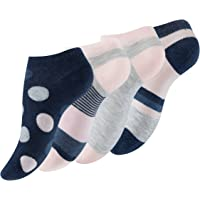 Vincent Creation 8 Paia Calzini corti multicolore con puntini e stripes per Donna