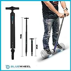 Bluewheel Haltestange H60 für Hoverboards – 38 bis 90cm Scooter Handle aus Aluminium – Balance Bar Optimal und sicher für Anfänger, Roller Handgriff für Elektro-Scooter, Hoverboard Halter Haltegriff