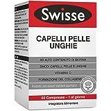 Swisse Integratore Capelli Pelle Unghie, Integratore Alimentare con Biotina, Zinco, Vitamina C, Ferro, Silicio ed estratto di