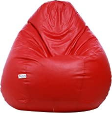 Sattva Excel Classic XL Bean Bag Cover (Red)