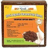 Kraft Seeds Compressed CocoPeat Block, 5Kg