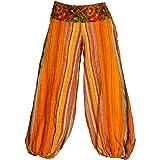 Panasiam, pantaloni muck, pantaloni stile harem, in meraviglioso cotone, unici e fatti a mano