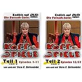 Vera F. Birkenbihl - Kopfspiele Vol. 1+2 (Episoden 1-22) Die kpl. TV-Serie [2 DVDs]