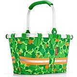 Reisenthel Carrybag XS Kids klappbarer Kinder-Einkaufskorb 5 Liter, Polyester, Greenwood 19.5 x 33.5 x 18 cm