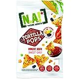 NA! NATURE ADDICTS Tortillas Pop Piment Doux Soufflées à Base de Maïs/Légumineuses 80 g