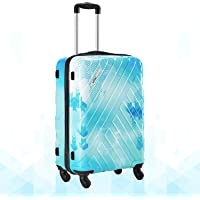 Safari RAY Voyage Polycarbonate 67 cms Printed Hardsided Medium Luggage (Ray Voyage 67 4W Printed)