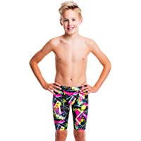 Flow Funky Swim Jammers - Size 21 to 32 Swimming Jammer Shorts for Boys in Ten Radical Swimsuit Designs