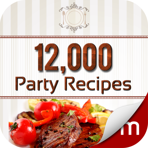 12,000 Party Recipes (Dinner Halloween Foods)