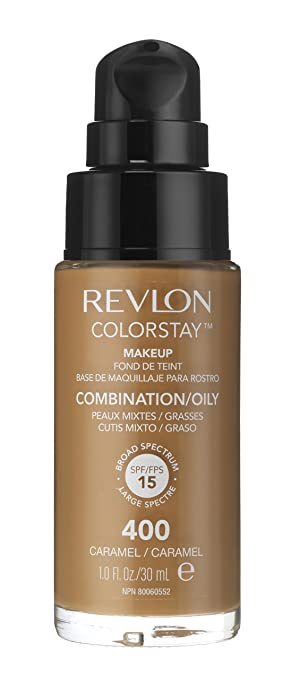Revlon ColorStay Foundation for Combination/Oily Skin, Buff ...