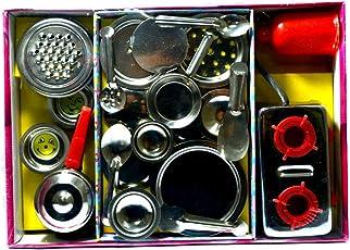 sunnytoyz Chotu Stainless Steel Kitchen Toy Set