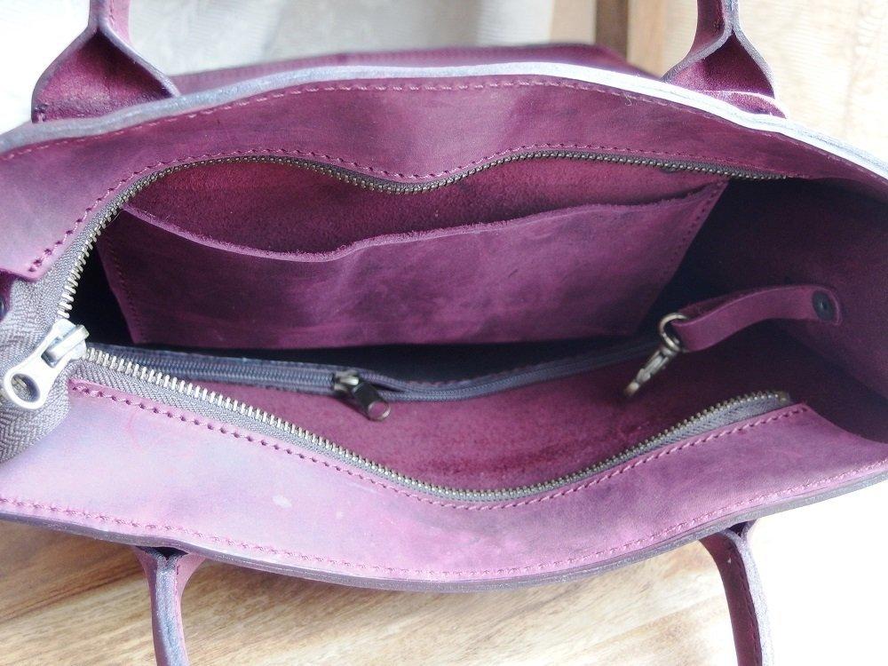 "ADOREinstyle Top Quality Leather Shoulder Bag - Crossbody Bag - Handbag ""Vilnius"" - Full grain Leather Bag - Personalized bag - Customizable. Inc. dust bag - handmade-bags"