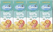 Rubicon Tropical Fruit No Sugar Added Juices for Kids - Pack of 4 Pcs  4 x 200ml